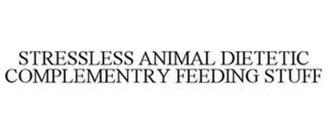 STRESSLESS ANIMAL DIETETIC COMPLEMENTARY FEEDING STUFF