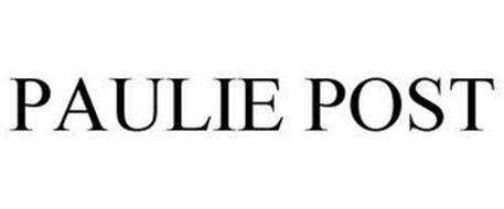 PAULIE POST