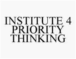 INSTITUTE 4 PRIORITY THINKING