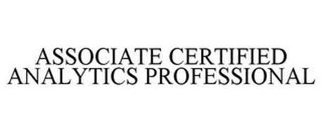 ASSOCIATE CERTIFIED ANALYTICS PROFESSIONAL
