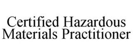 CERTIFIED HAZARDOUS MATERIALS PRACTITIONER