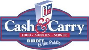 IWC CASH & CARRY FOOD· SUPPLIES· SERVICE DIRECT TO THE PUBLIC
