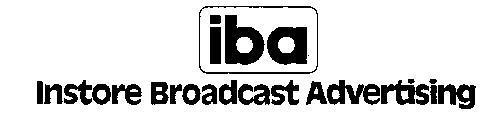 IBA INSTORE BROADCAST ADVERTISING