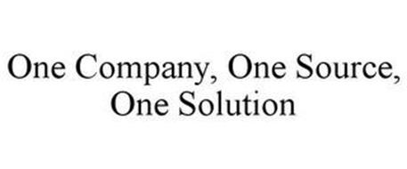 ONE COMPANY, ONE SOURCE, ONE SOLUTION
