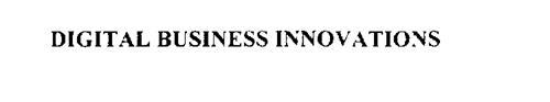 DIGITAL BUSINESS INNOVATIONS