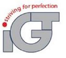 IGT STRIVING FOR PERFECTION