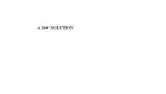 A 360º SOLUTION