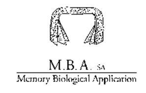 M.B. A. SA MEMORY BIOLOGICAL APPLICATION