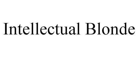INTELLECTUAL BLONDE