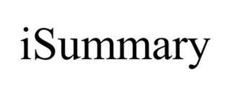 ISUMMARY