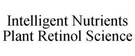 INTELLIGENT NUTRIENTS PLANT RETINOL SCIENCE