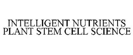 INTELLIGENT NUTRIENTS PLANT STEM CELL SCIENCE