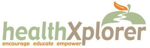 HEALTHXPLORER ENCOURAGE EDUCATE EMPOWER