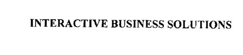 INTERACTIVE BUSINESS SOLUTIONS