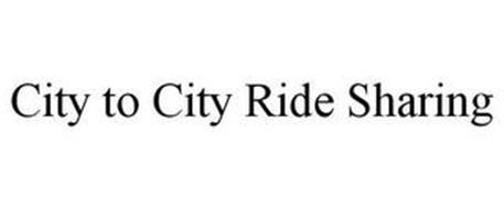 CITY-TO-CITY RIDESHARE