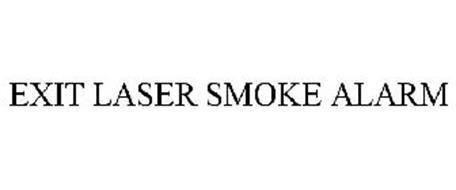 EXIT LASER SMOKE ALARM