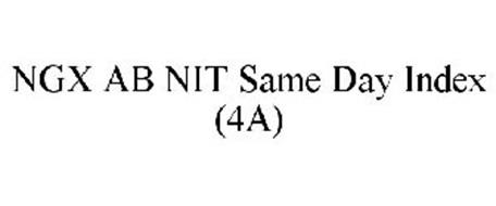 NGX AB NIT SAME DAY INDEX (4A)