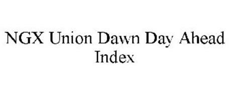 NGX UNION DAWN DAY AHEAD INDEX