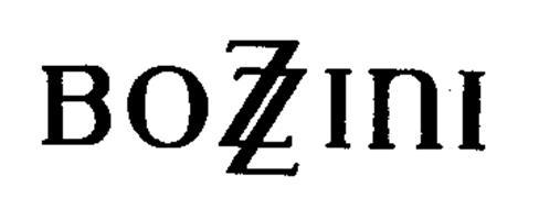 BOZZINI