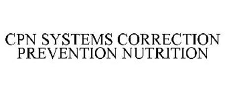 CPN SYSTEMS CORRECTION PREVENTION NUTRITION