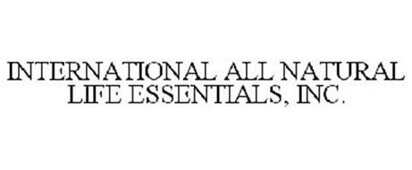 INTERNATIONAL ALL NATURAL LIFE ESSENTIALS, INC.