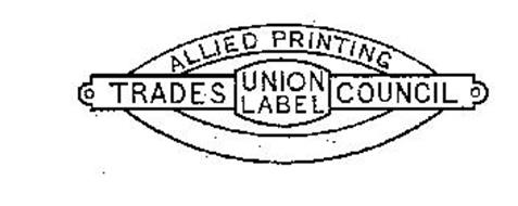 Allied Printing Trades Council Union Label Trademark Of