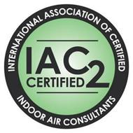INTERNATIONAL ASSOCIATION OF CERTIFIED INDOOR CONSULTANTS IAC2 CERTIFIED