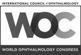 INTERNATIONAL COUNCIL OF OPHTHALMOLOGY WOC WORLD OPHTHALMOLOGY CONGRESS