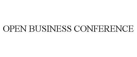 OPEN BUSINESS CONFERENCE