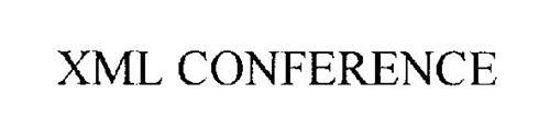 XML CONFERENCE