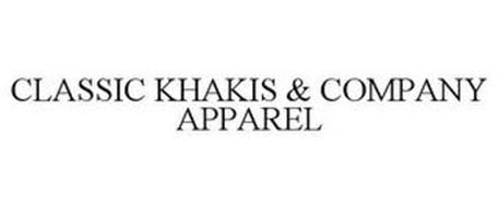 CLASSIC KHAKIS & COMPANY APPAREL