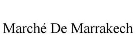 MARCHÉ DE MARRAKECH