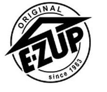 E-Z UP ORIGINAL SINCE 1983