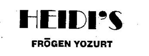 HEIDI'S FROGEN YOZURT