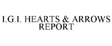 I.G.I. HEARTS & ARROWS REPORT
