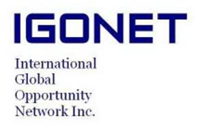 IGONET INTERNATIONAL GLOBAL OPPORTUNITY NETWORK INC.