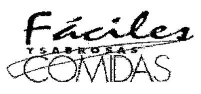 FACILES YSABROSAS COMIDAS