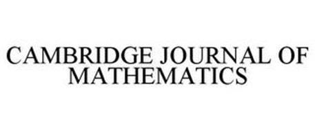 CAMBRIDGE JOURNAL OF MATHEMATICS