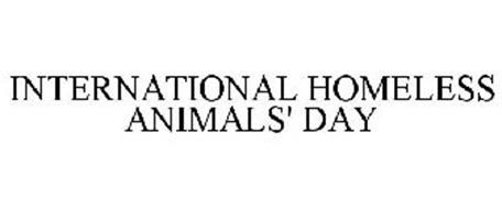 INTERNATIONAL HOMELESS ANIMALS' DAY