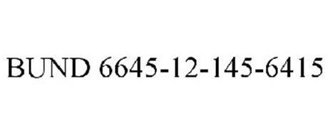 BUND 6645-12-145-6415