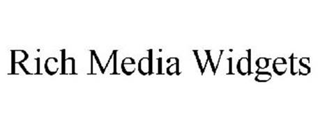 RICH MEDIA WIDGETS