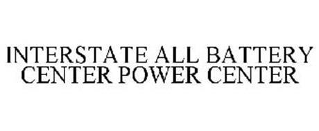INTERSTATE ALL BATTERY CENTER POWER CENTER