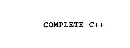 COMPLETE C++