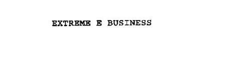 EXTREME E BUSINESS