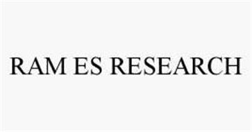 RAM ES RESEARCH