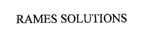 RAMES SOLUTIONS