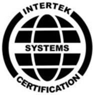INTERTEK SYSTEMS CERTIFICATION