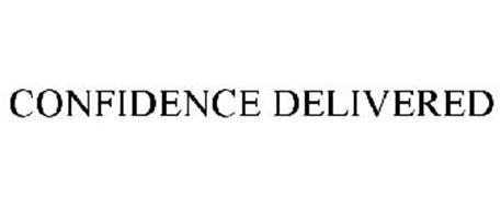 CONFIDENCE DELIVERED