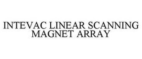 INTEVAC LINEAR SCANNING MAGNET ARRAY