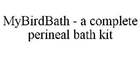 MYBIRDBATH - A COMPLETE PERINEAL BATH KIT